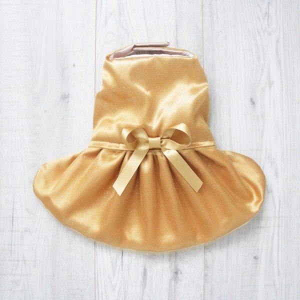 gold sparkly party dress